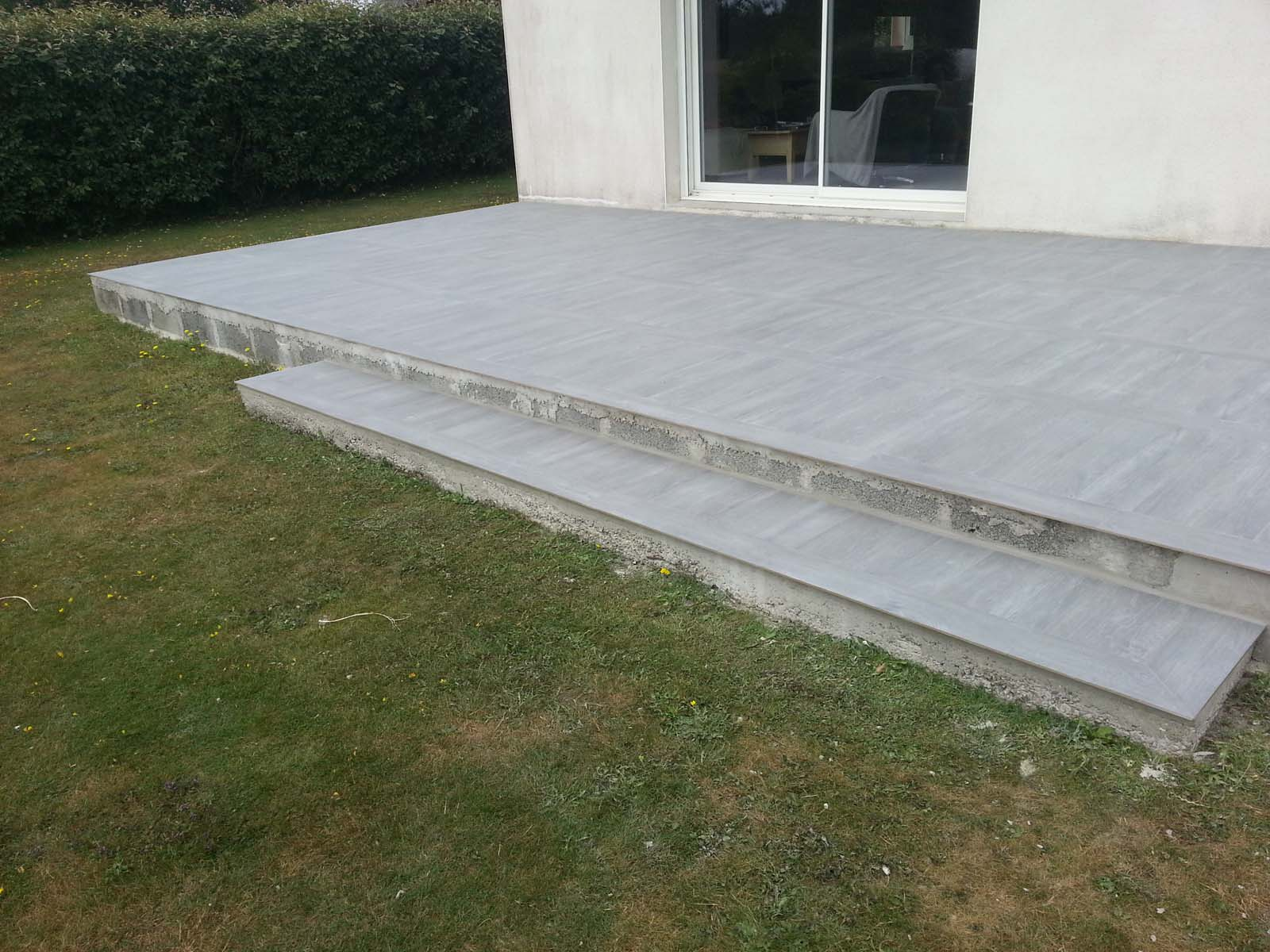 Planchers carrelage for Pavage exterieur